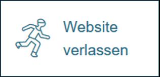 Button Website verlassen